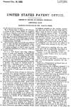 Patent Specs Page 1 for Bolton ABC Minnow Lure # 1,477,864
