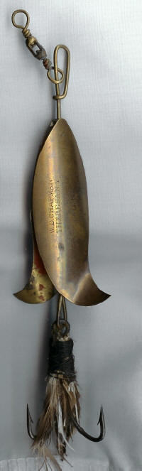 Chapman Antique Lure the Minnow Propeller
