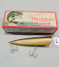Heddon Wooden Musky Chugger Lure in Up Bass Box
