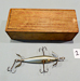 Heddon 3 BW Underwater Minnow Lure in Wood Box