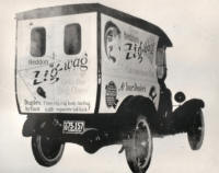Heddon Lure Delivery Truck