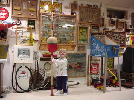 Future Antique Fishing Lure Collector
