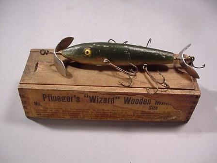 Antique Lure the Wizard