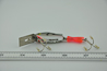 Heddon Dowagiac Fire Tail Sonic Spook Fishing Lure Bottom View