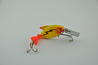 Heddon Dowagiac Fire Tail Sonic Spook Fishing Lure Yellow Version